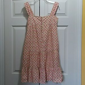 VINTAGE Lilly Pulitzer button front tiered dress